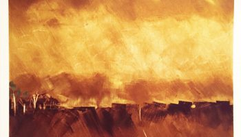 'Heat' Oil Painting by Partner Frank Green