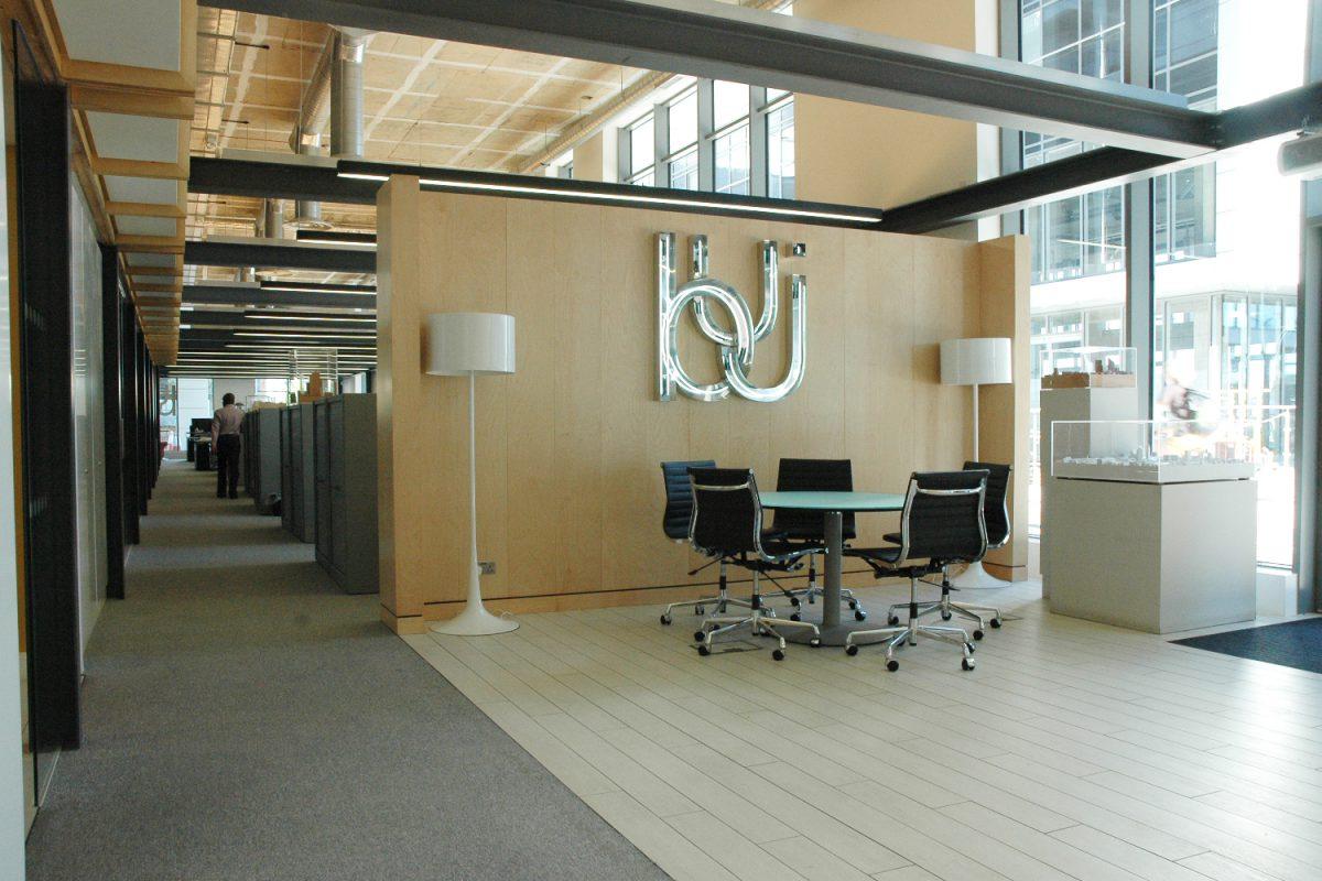 BUJ Office reception